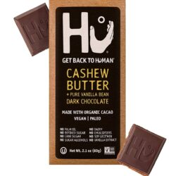 vegan gluten free organic hu cashew butter dark chocolate bar