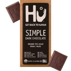 Hu vegan gluten-free 70% dark chocolate bar