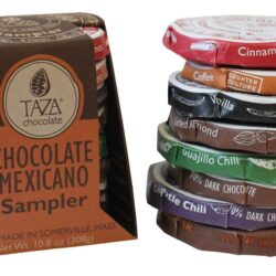 vegan gluten free taza chocolate mexicano sampler