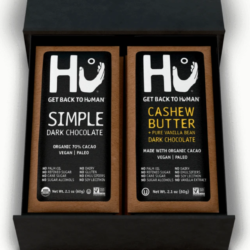 hu chocolate lovers vegan paleo gluten free gift box