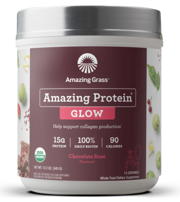 amazing protein chocolate glow collagen boost gluten free