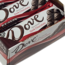 dove dark chocolate bars gluten free 18 pack