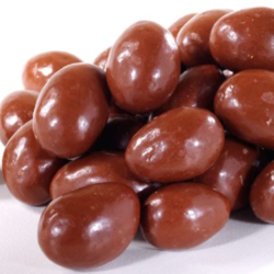 organic milk chocolate covered almonds gluten free